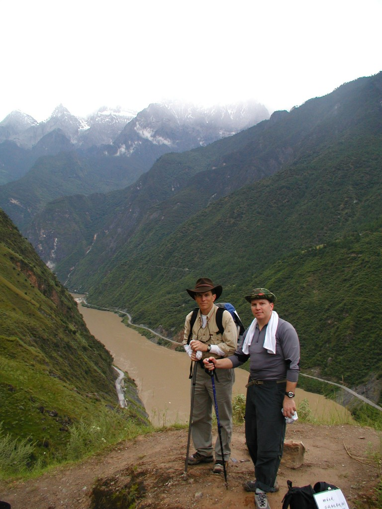 "On the ""High Trail"" in Tiger Leaping Gorge"